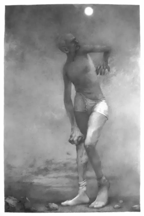 "David I, 22""x15,"" Graphite on Rives BFK, 2013"