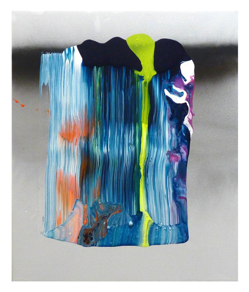 SP5607, Acrylic & Spray Paint on Canvas, 20 x 24 in