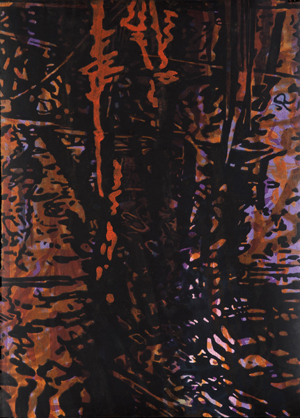 Elegy #6 2012 woodcut monoprint 31x22.5 copy.jpg