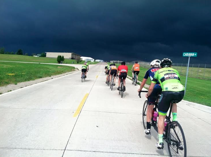 Strong biking and storms were seen at this year's Ability Tour