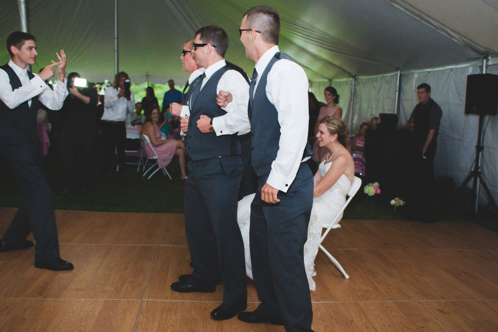 Get the garter mission impossible style.