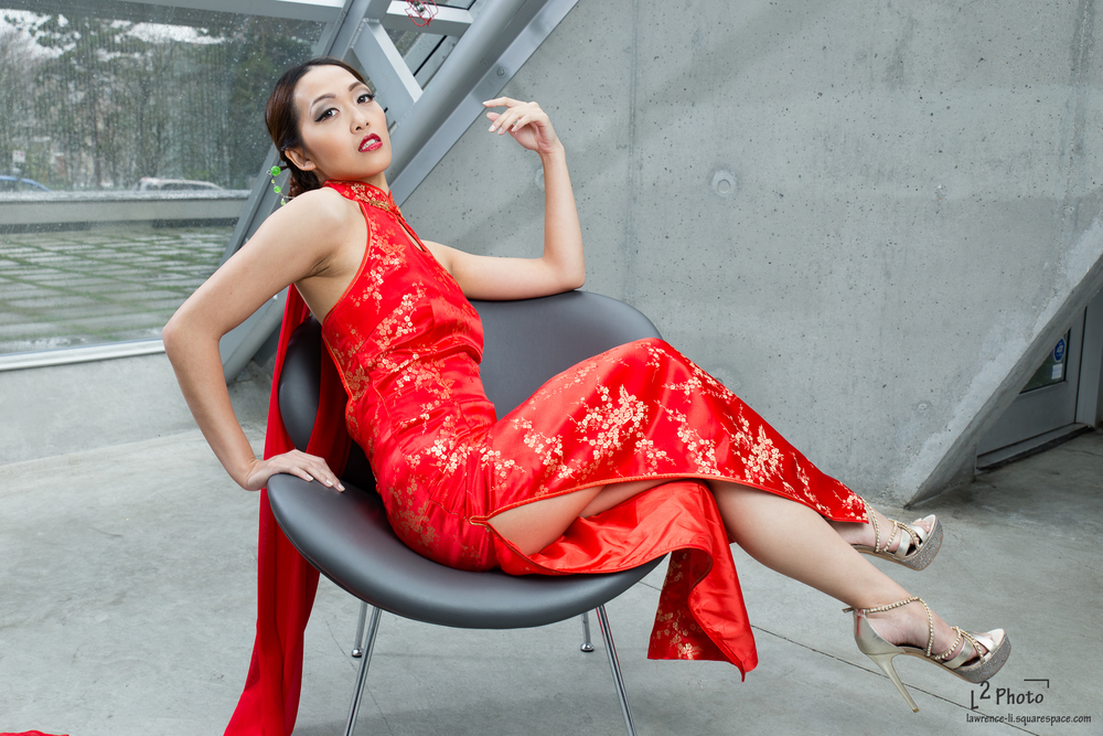 Model: Lily Hsu Mua: Kerry Waters Hair: Luna Li Stylist: Sylvia Townson