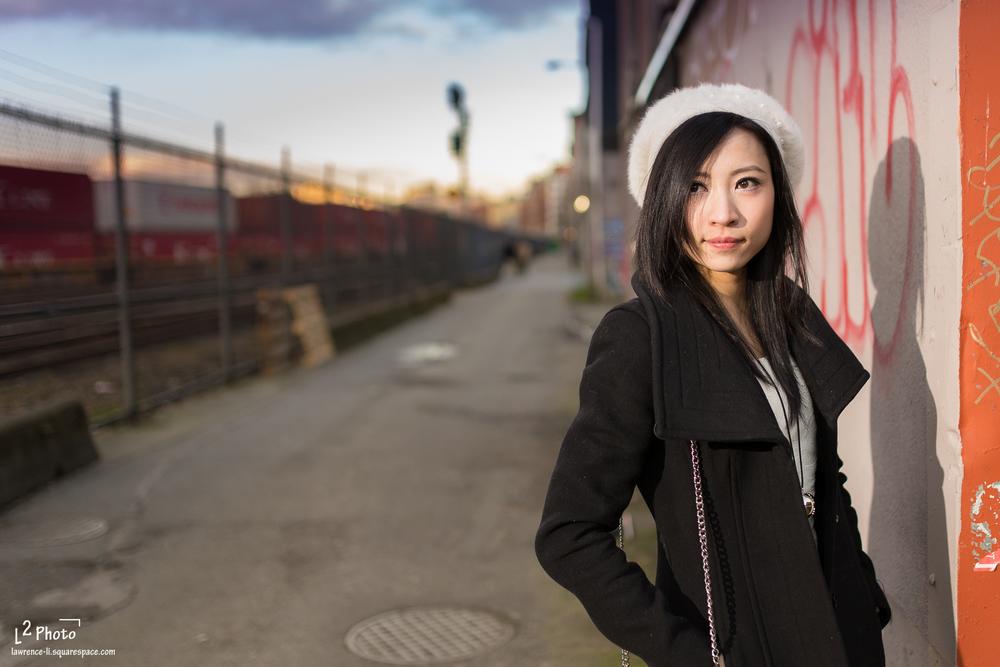 Model: Angela Liao
