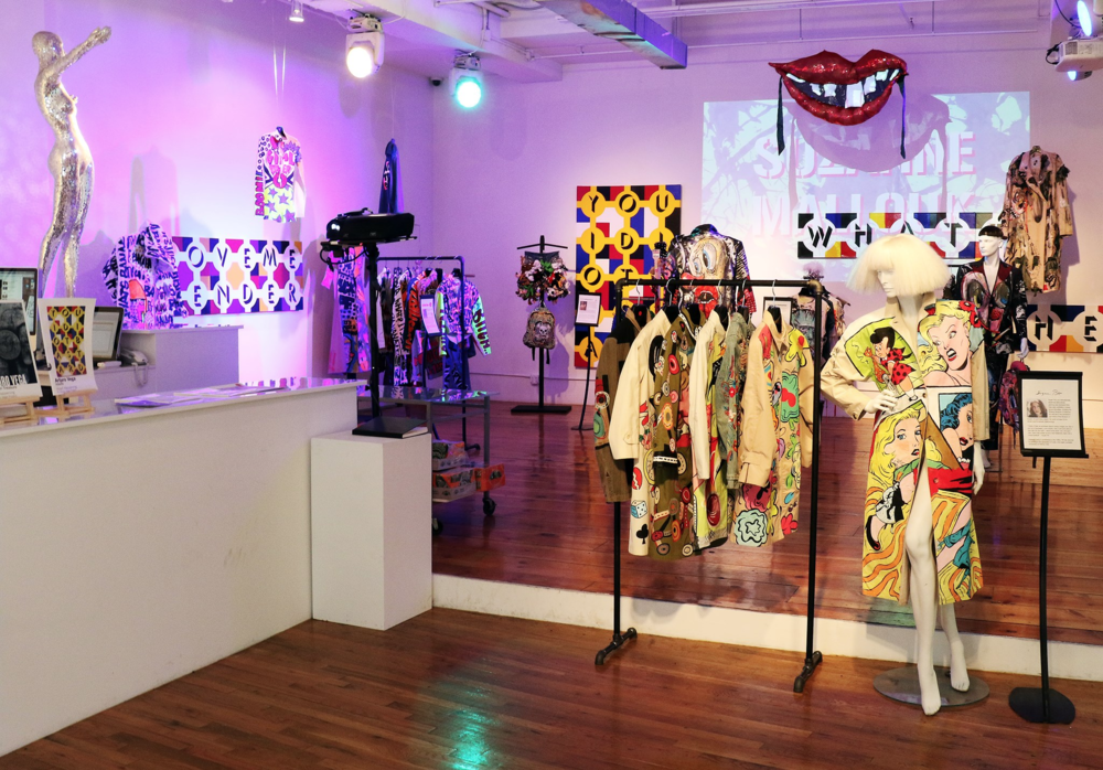 Patricia Field Art/Fashion Exhibition at Howl! Happening