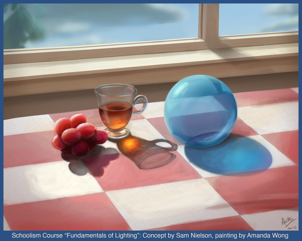 "Schoolism Course ""Fundamentals of Lighting"""