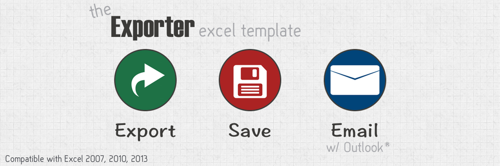 The Exporter Excel Template