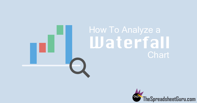How To Analyze A Waterfall Bridge Chart  The Spreadsheet Guru
