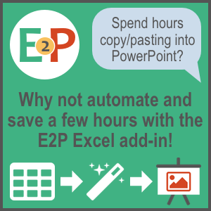 Copy paste an excel range into powerpoint with vba the e2p excel add in toneelgroepblik Image collections