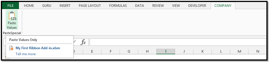 Easy Step By Step Instructions To Create Your First Excel Ribbon Add
