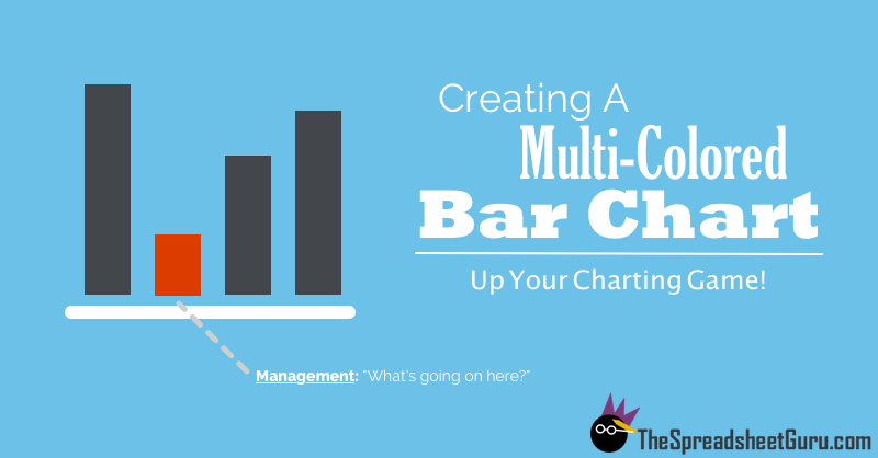 Create A Bar Chart With Separate Positive And Negative Colors