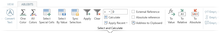 AbleBits Utility Pack Excel Add-in