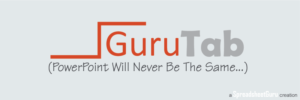 Guru Tab Microsoft PowerPoint Utility Add-in