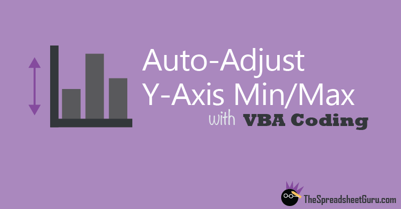 Automatically Adjust Chart Y-Axis Limits Excel
