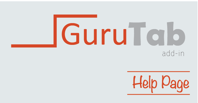 guru tab ppt help the spreadsheet guru