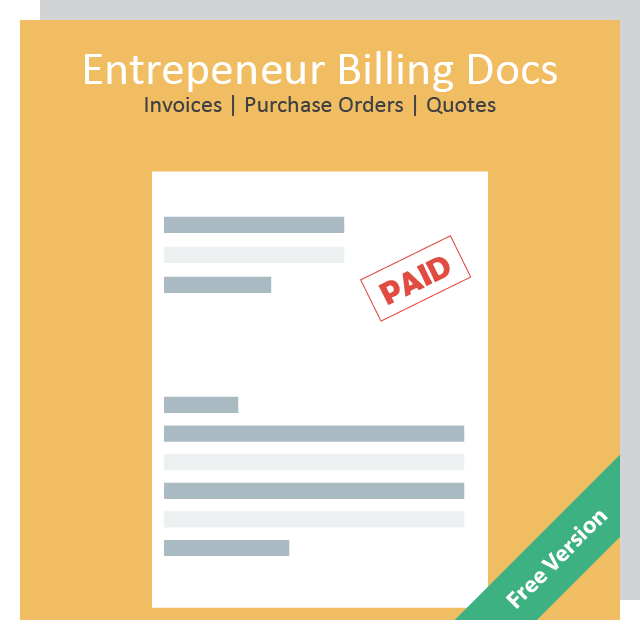 COMING SOON!  Generate modern, professional billing documents for your small business with just a few clicks
