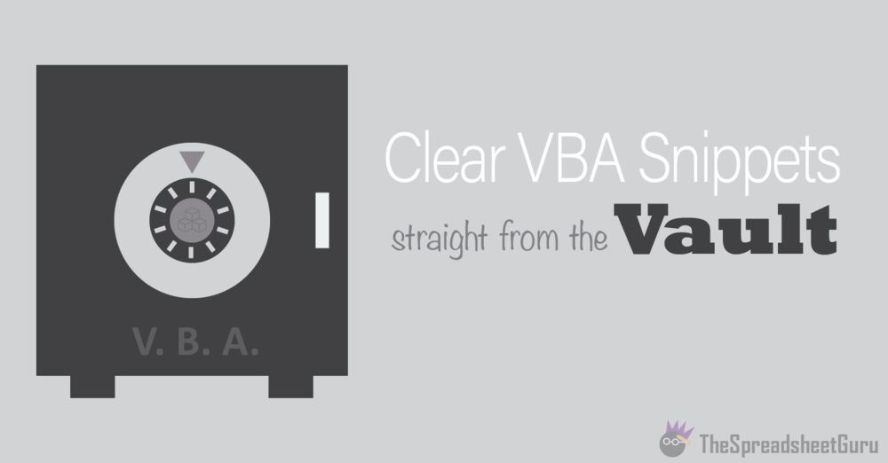 Find and Replace All With Excel VBA