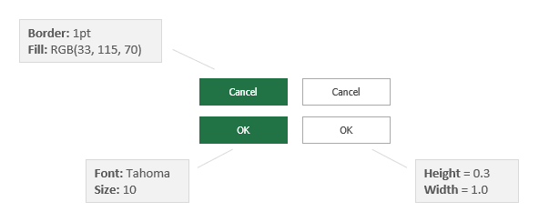 Build VBA Userform Button Within Excel Spreadsheet