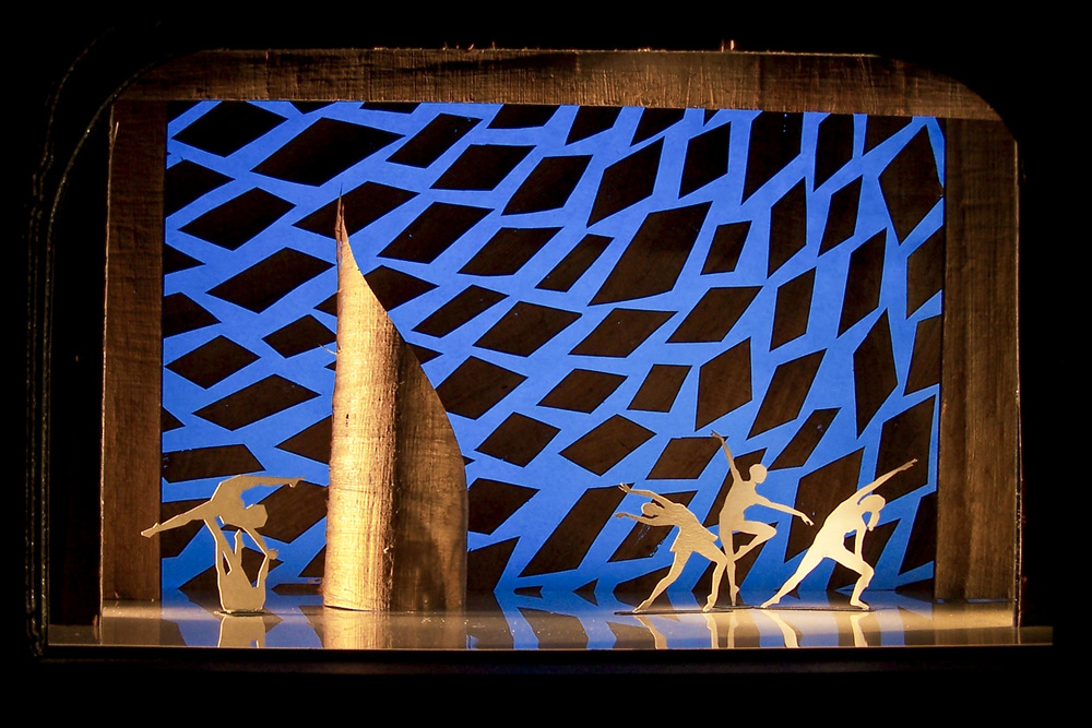 Scenic Design for Dance - Scale Model