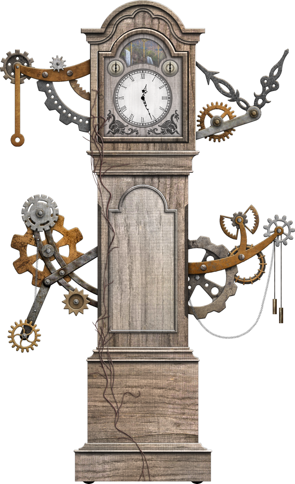ENCHANTED GRANDFATHER CLOCK  The Gift  (Anthem of the Seas)