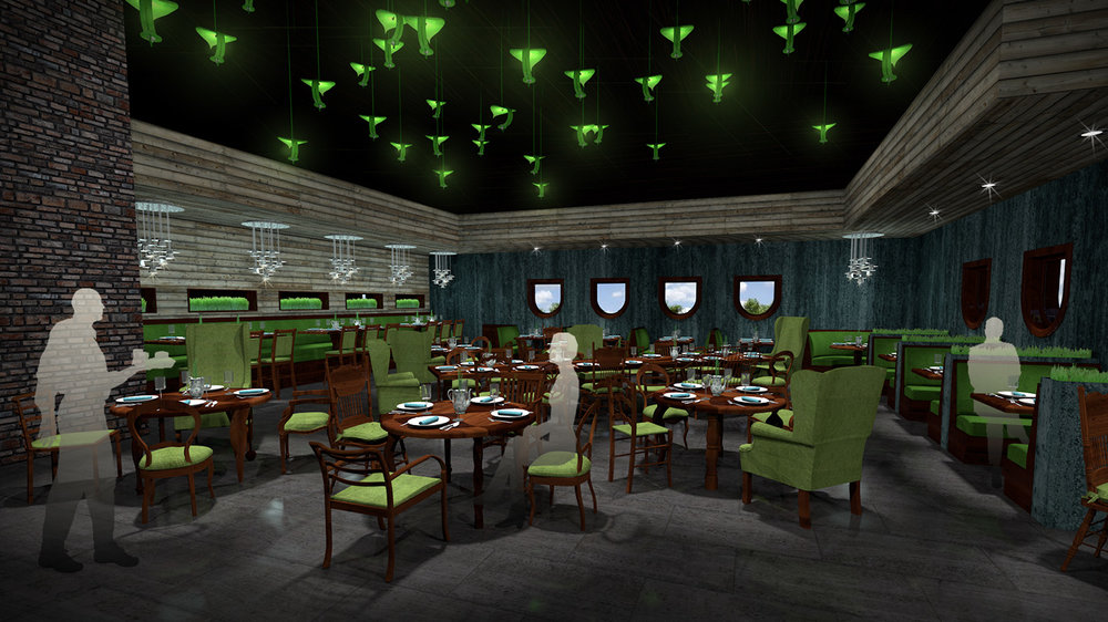 andy   broomell   mirabili   alice in wonderland   themed   restaurant   design   vectorworks   photoshop   3d   model   rendering 8