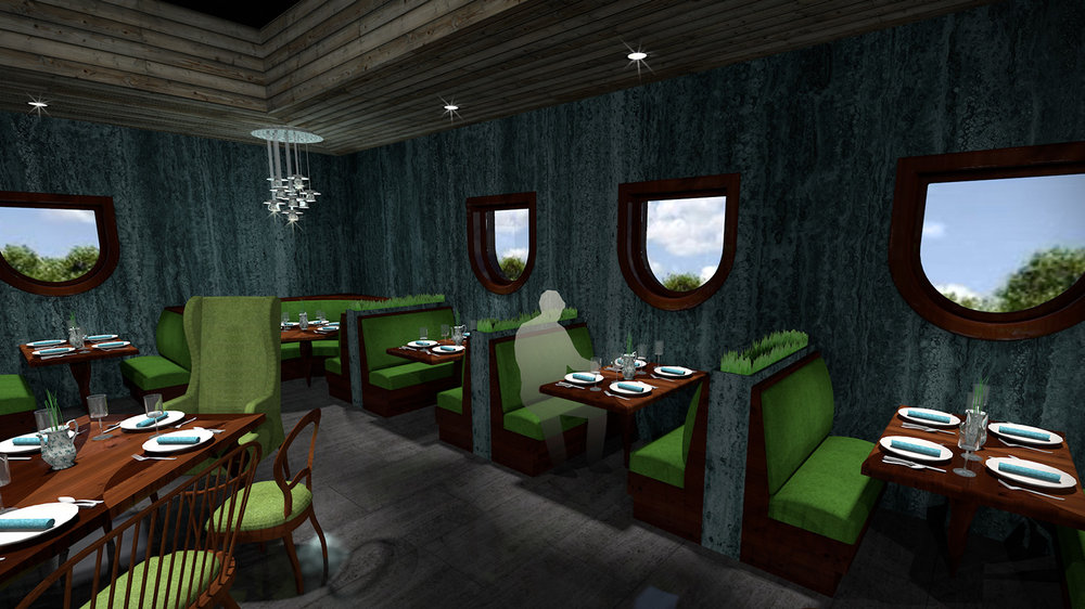 andy   broomell   mirabili   alice in wonderland   themed   restaurant   design   vectorworks   photoshop   3d   model   rendering 10