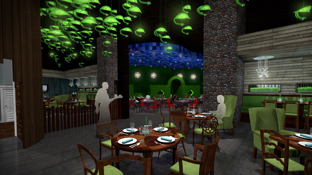 andy   broomell   mirabili   alice in wonderland   themed   restaurant   design   vectorworks   photoshop   3d   model   rendering 13