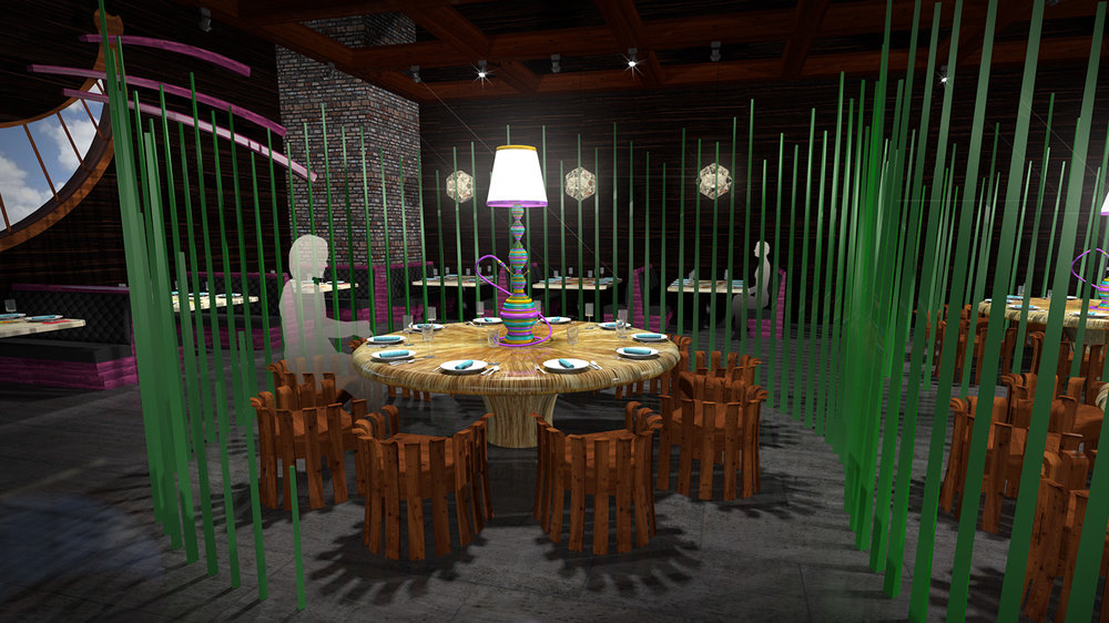 andy   broomell   mirabili   alice in wonderland   themed   restaurant   design   vectorworks   photoshop   3d   model   rendering 22