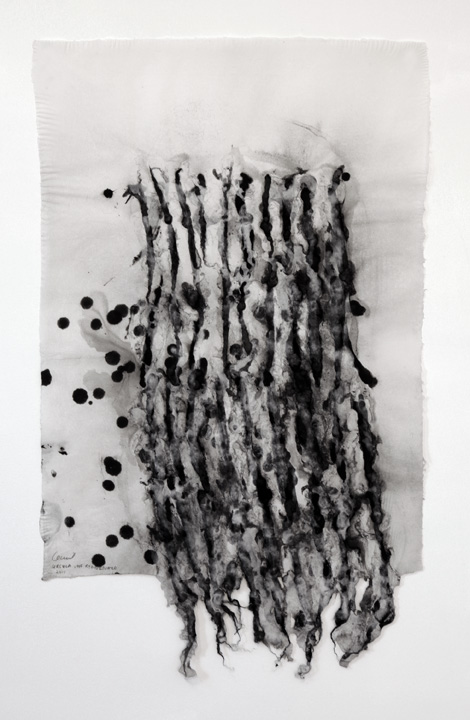 URSULA VON RYDINGSVARD Constellation WORK ON PAPER Handmade pulp paper 36.00 x 23.00 in 91.4 x 58.4 cm Unique Work Signed by the artist