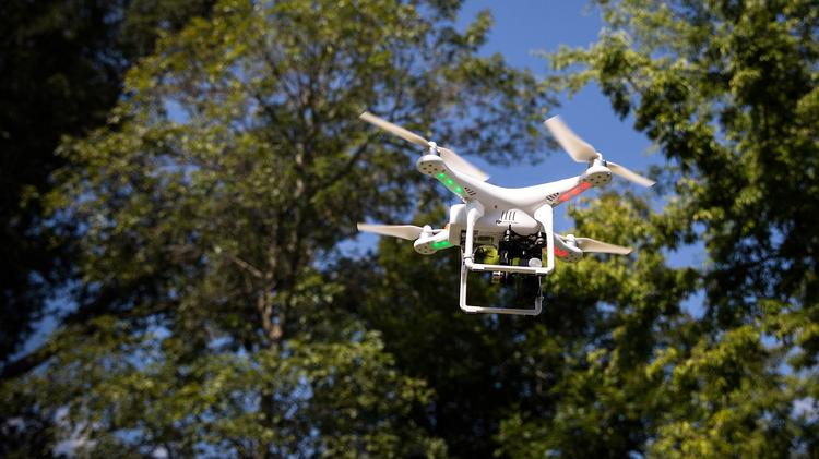 """Currently, 95 percent of the company's work is done with satellite imagery, though a minimal amount does happen with drones."""