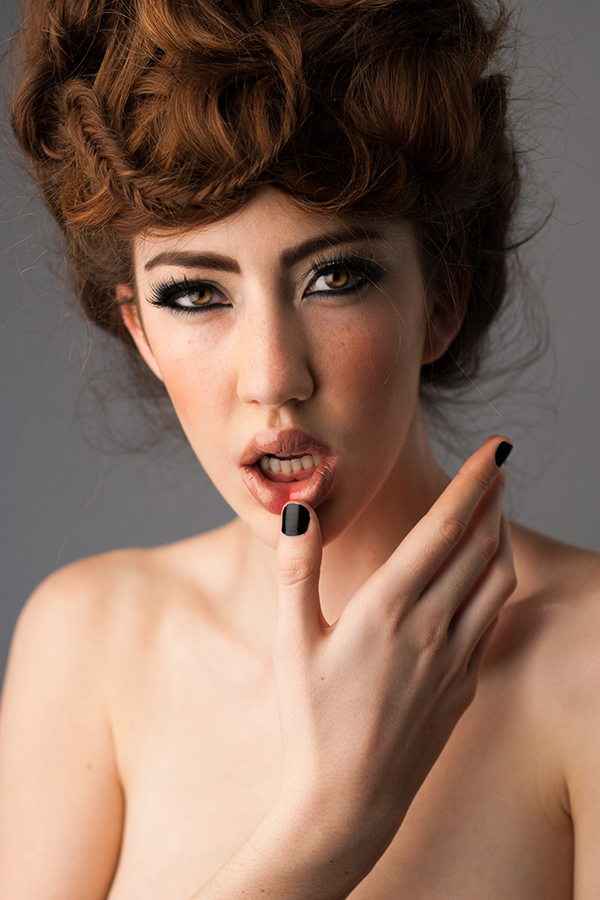 MAKEUP - REBECCA NANTEL  MODEL - MARISSA HANLEY OF NUMA MODELS  PHOTOGRAPHER - MALORIE SHMYR