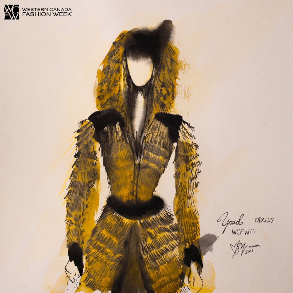 Fashion Illustrator  -  Malorie Shmyr, Creative Director/Editor