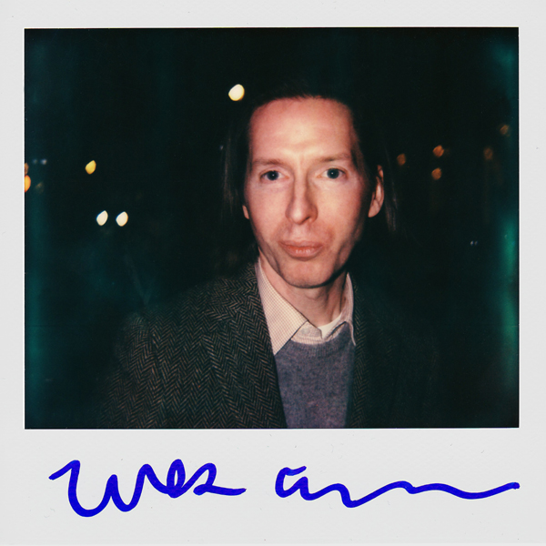 Polaroid of Wes Anderson by  Portroids .