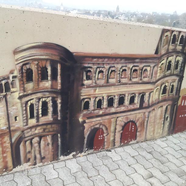 Porta Nigra graffiti