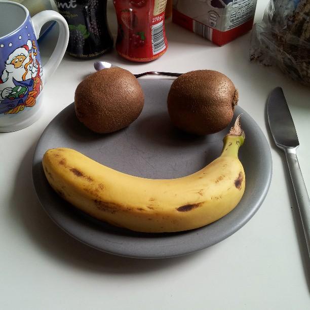My sweet roommate made me breakfast!