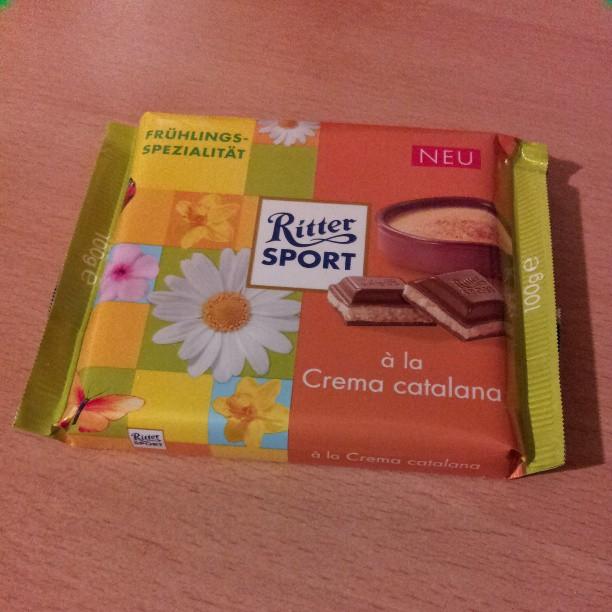 Ritter chocolate!