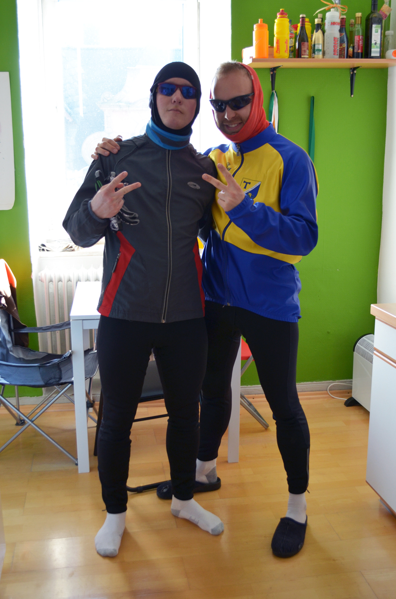 Stefan & Mitch, my wonderful roomies!