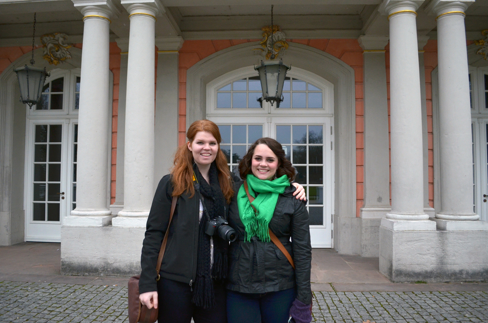 Colleen & Bailey at the Palace of Trier!