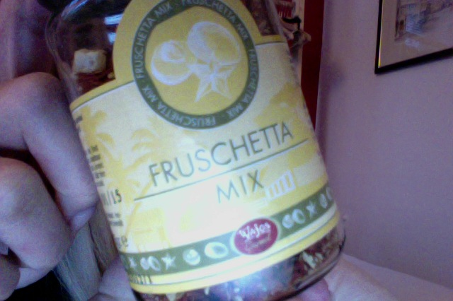 Fruschetta mix! Just add oil!