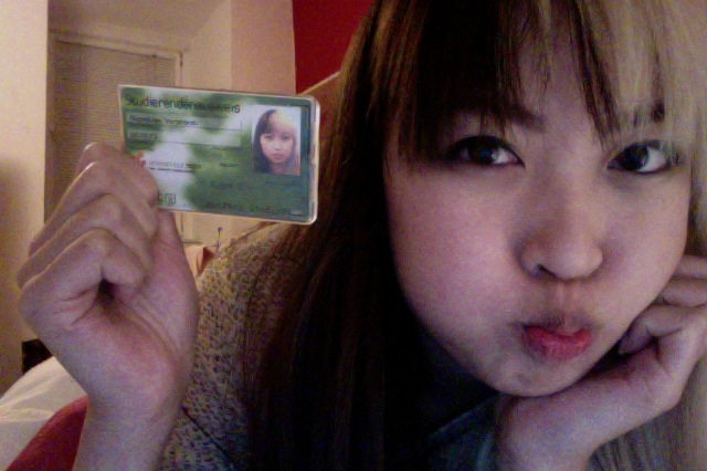 Finally received my ID/Bus pass