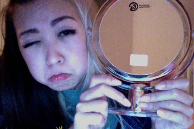 A mirror!