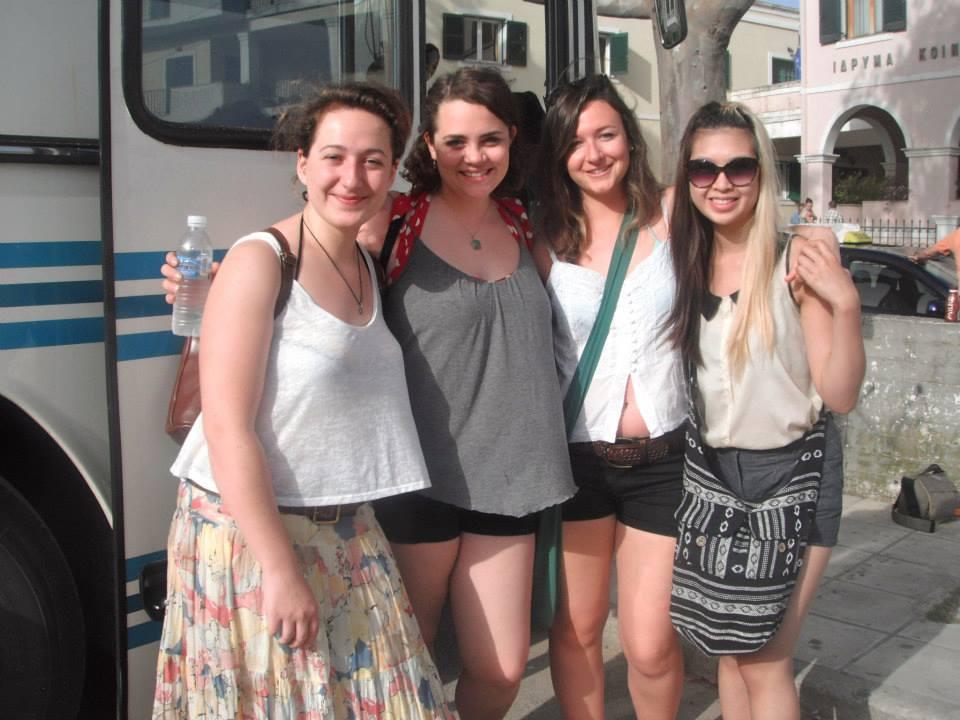 Ana, Bailey, Shannon, & I