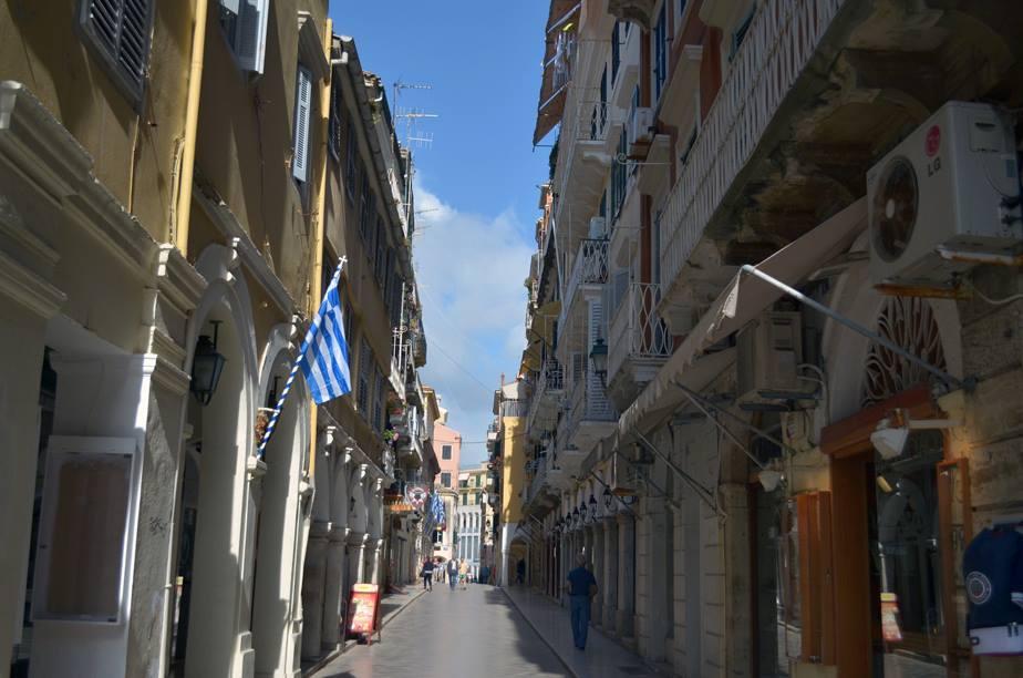 Corfu street view