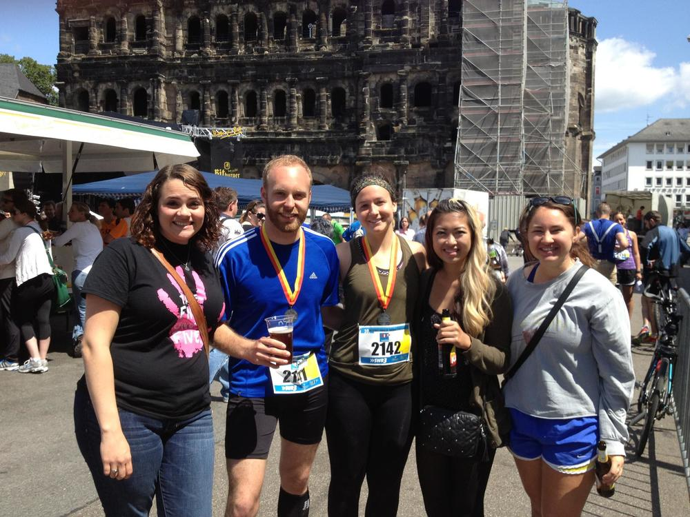The amazing race Mitch & Shannon ran