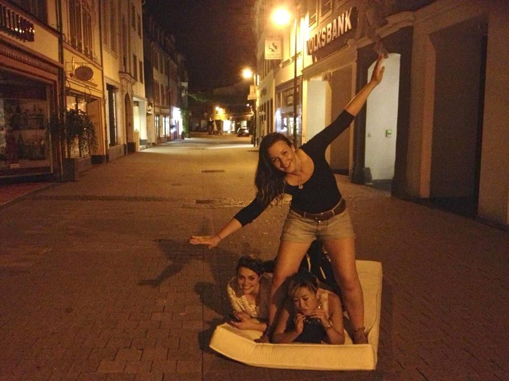 Found a mattress after clubbing