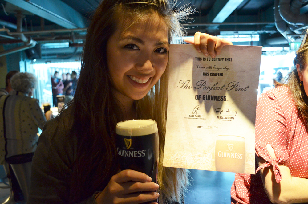 Certified perfect pint!