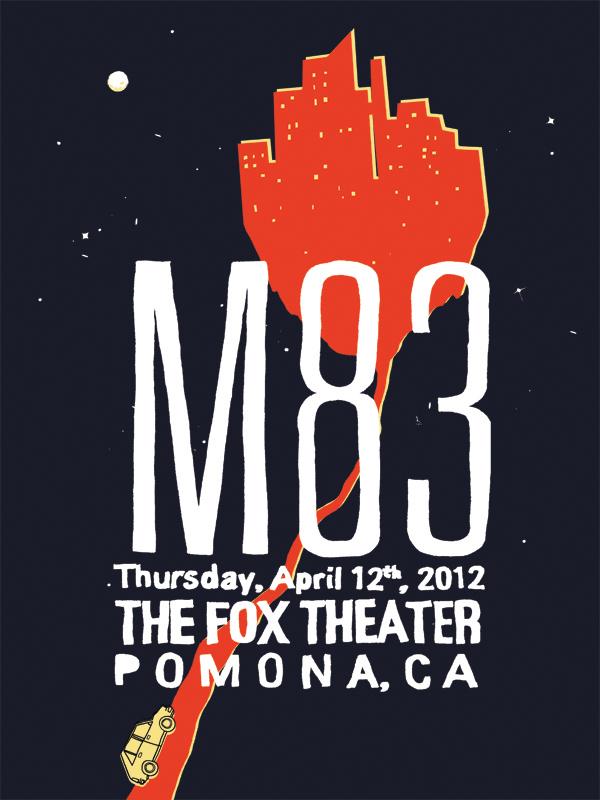 M83 Fictional Concert, 2012