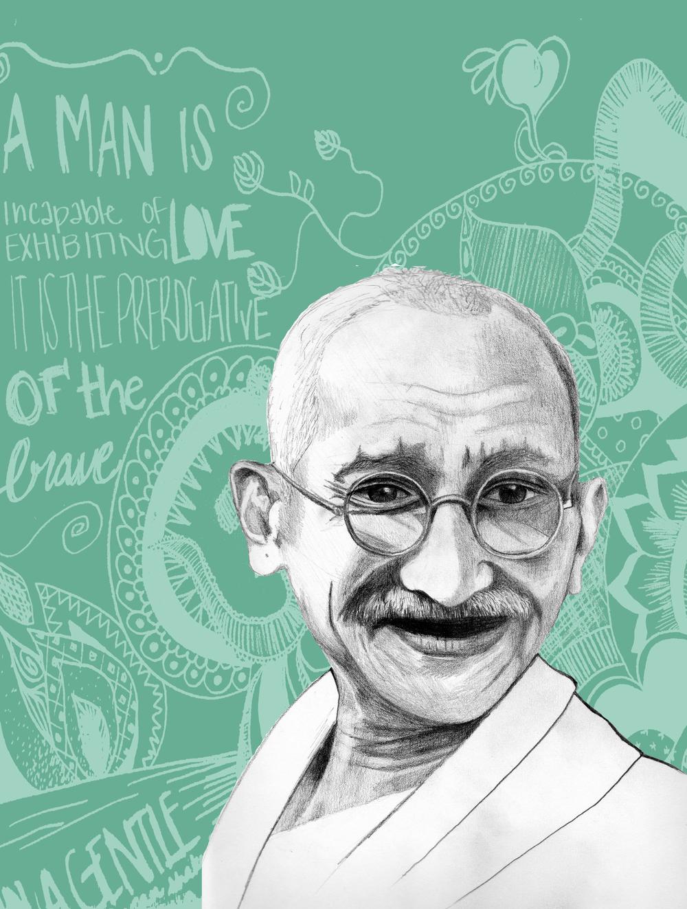 Mahatma Gandhi, 2012