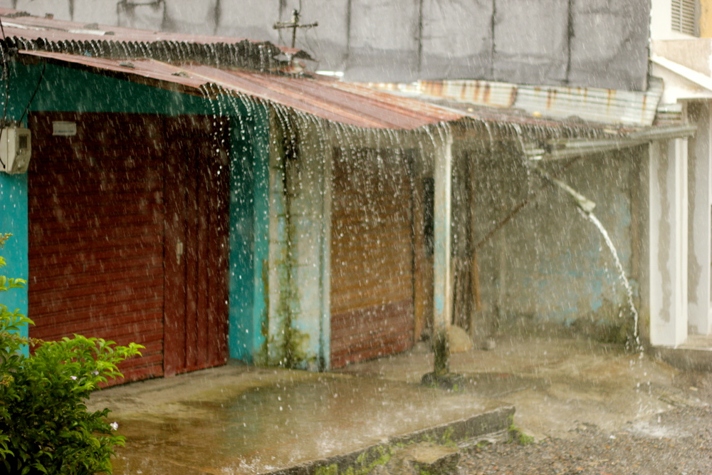 Lluvia. Quibdó, 2012.