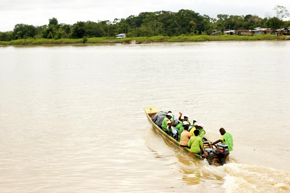 Río Atrato, 2014.