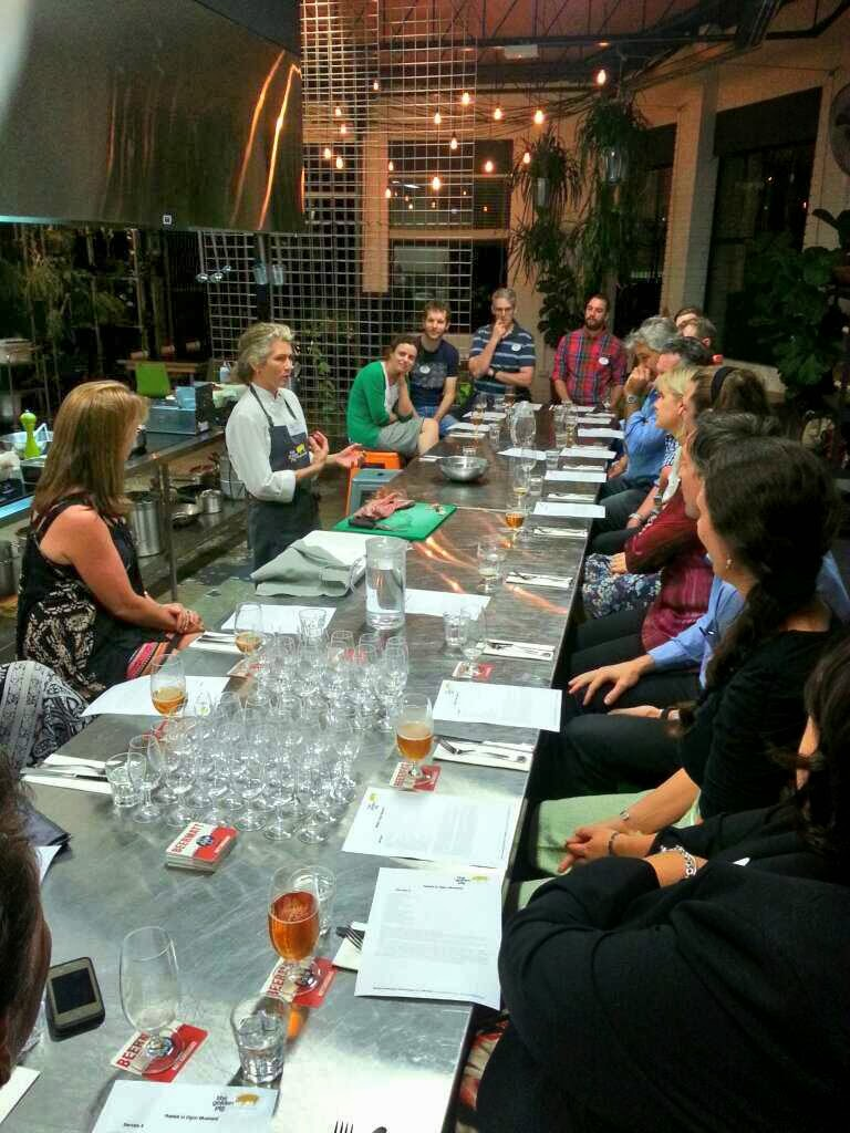 Learn to Cook & Drink class at The Golden Pig